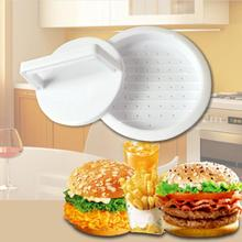 Mold Patty-Maker Beef-Grill Hamburger-Press Kitchen-Tool Meat Round-Shape Plastic Food-Grade