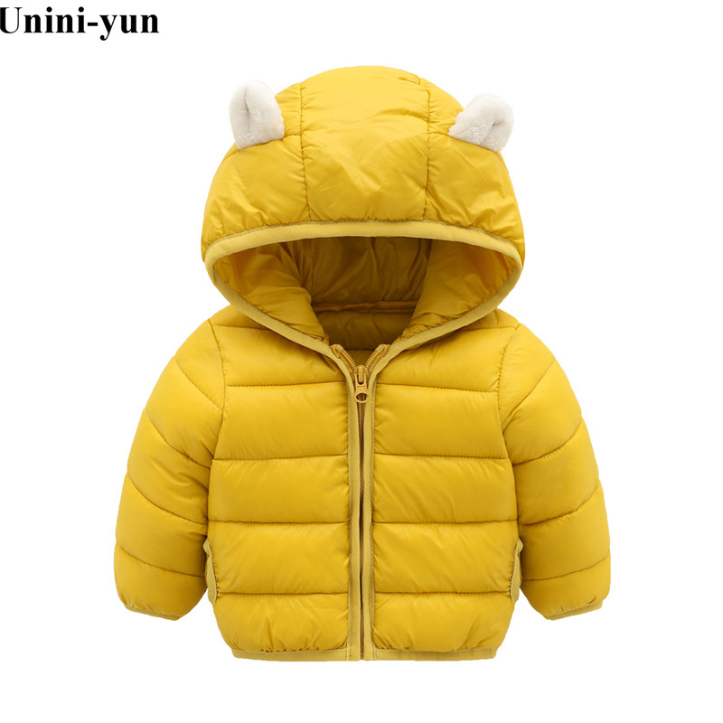 Winter Cotton Jacket For Girls Clothes Parka Hooded Russian Winter Coat 2019 New Children Outerwear Clothing Boys Coats Winter