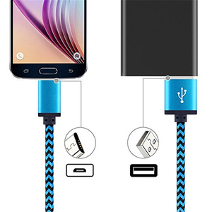 Image 5 - Olnylo Micro USB Cable Fast charging Braided Data Cord For Samsung S7 Huawei Xiaomi Redmi Note 5 Android Microusb Phone Cables