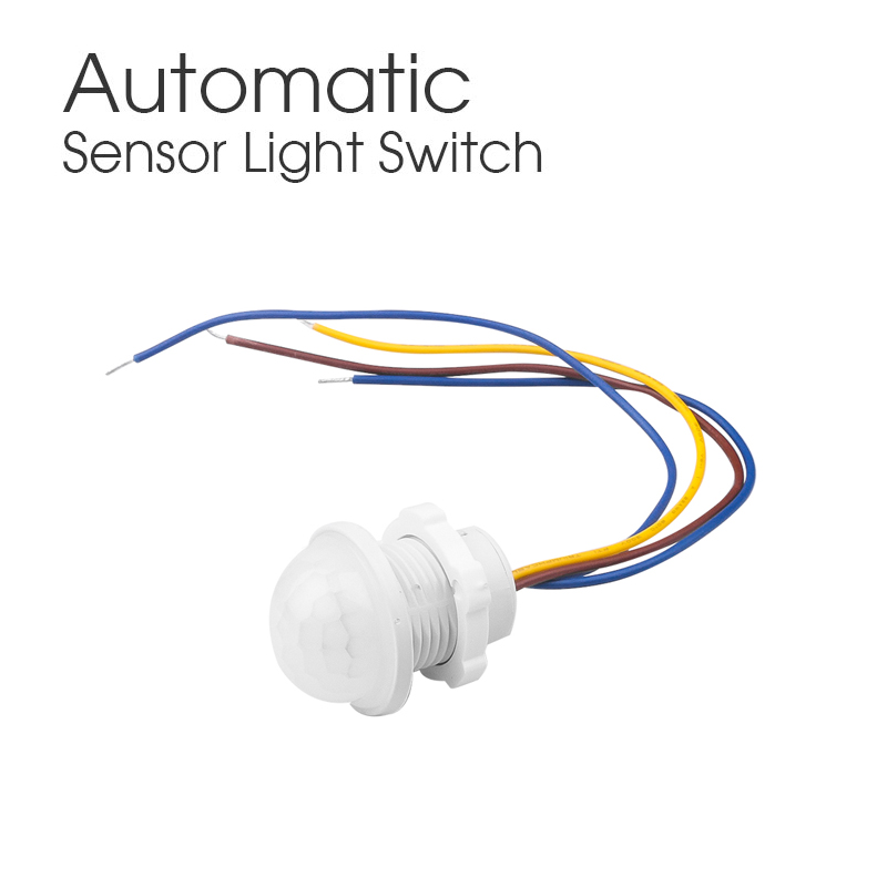 PIR Sensor Switch Detector Infrared LED 220V 110V Auto-On-Off Hot