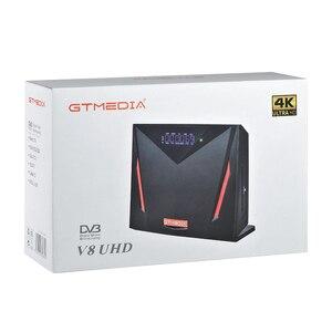Image 5 - Nuevo receptor de satélite Gtmedia V8 UHD DVB S2 integrado en wifi compatible con YouTube con 3 años Europa cccam better V8 POR2 freesat V8 UHD