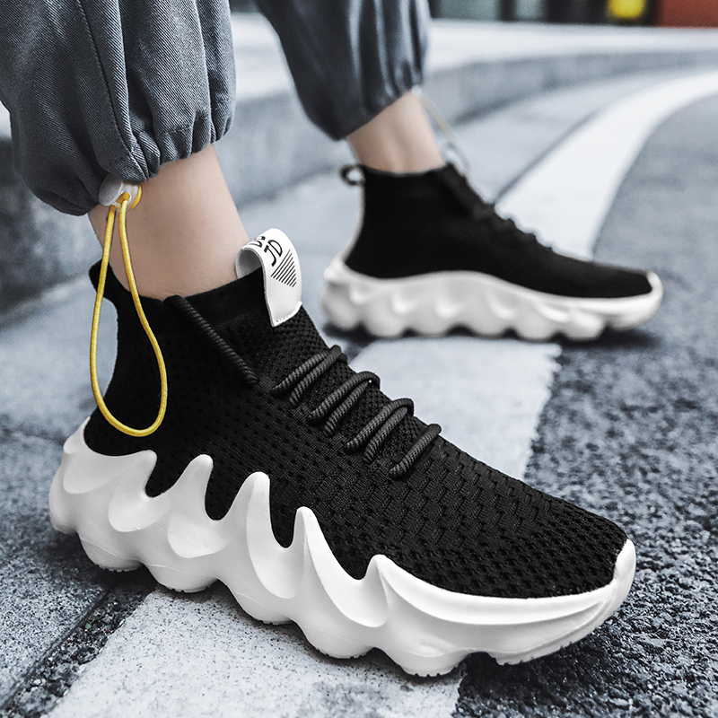 Men Sock Sneakers Running Shoes Fashion Sport Shoes Woman Man Outdoor Walking Zapatillas Footwear Male Tennis Training Shoes