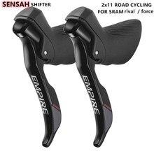 Desviador da bicicleta de estrada 2 11 velocidade da bicicleta de estrada shifters & shift cabo alavanca engrenagem freio bicicleta compatível para sram rival/força