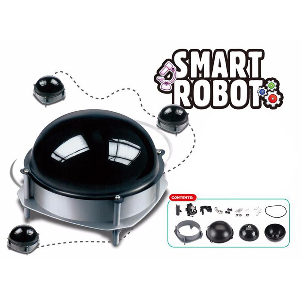 DIY Electric Walking Smart Robot Ball Building Model Educational Children Toy New Round Ball Design Robot Needs DIY Assembling