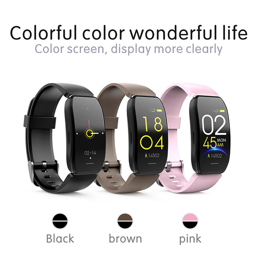 Fitness Watch Men Pedometer Watch Step Count Band Heart Rate Monitor Smart Bracelet Watch Exercise Clock That Counts Calories