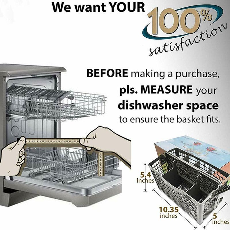 Utensil Cutlery Holde,Dishwasher Silverware Basket Universal Clean ...