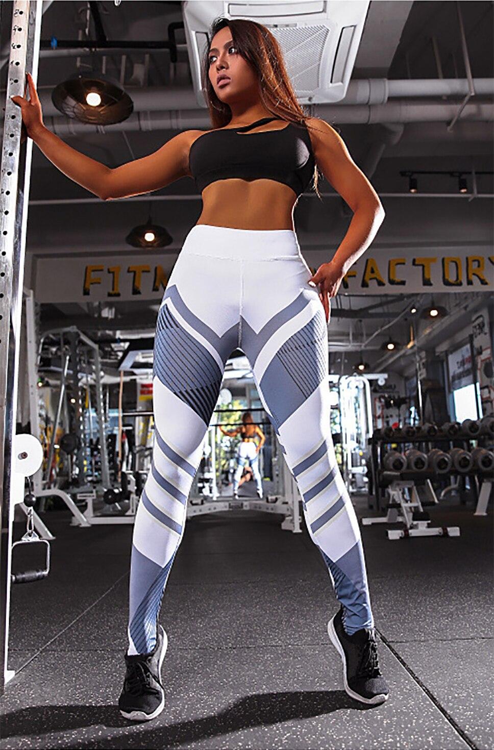 H5cf4baf4cf0b4eb8bd38d7db24ffd64ao BEFORW 2020 Fashion Polyester Digital Printing Leggings Plus Size Women Sexy Workout Black Leggings Camouflage Camo Pants