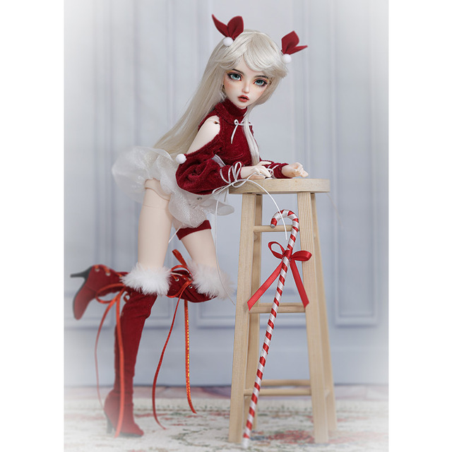 BJD Doll Miyn 1/4 Macaron Magic Ice Cream Girl Ball Jointed Doll Art Collection Toys MSD Size Chirstmas Gift Limited Doll 4