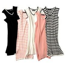 Женское трикотажное платье свитер дизайнерское в полоску с коротким