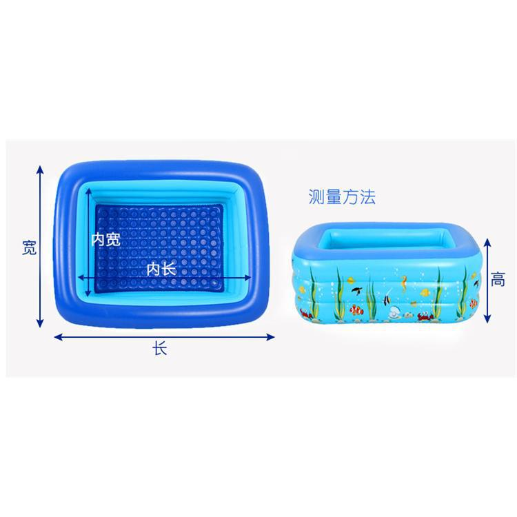 Inflatable Children Oceans Ball Pool Ball Pool Inflatable Children Swimming Pool Family Style Swimming Pool Storage Convenient