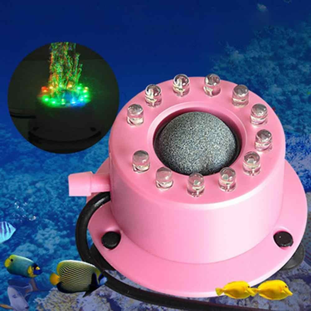 ถังปลา Bubble LIGHT LED โคมไฟฟอง Aquarium ไฟสีสัน Goldfish TANK ตกแต่งเครื่องประดับ