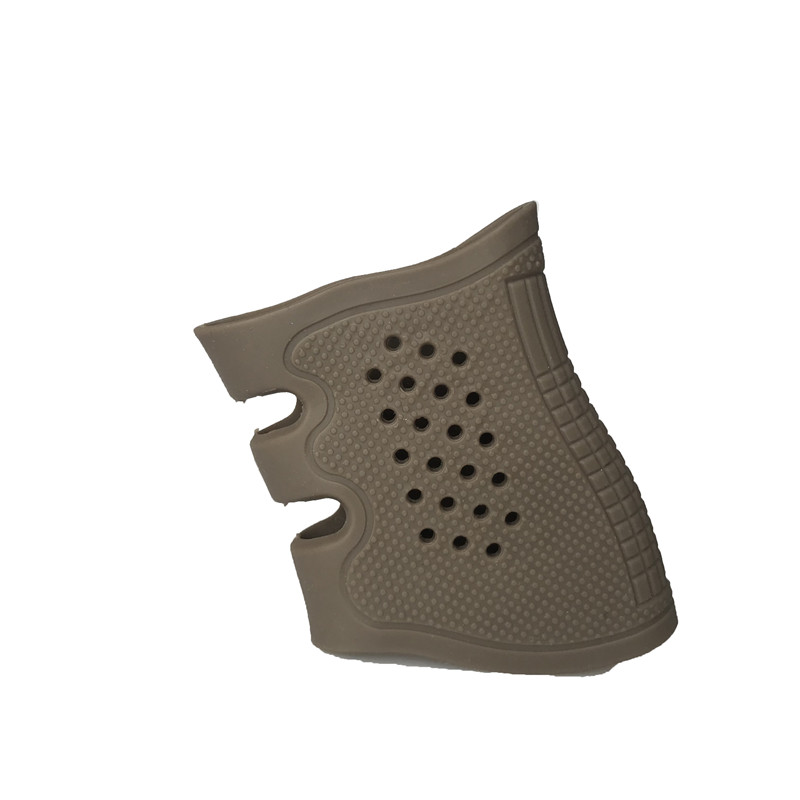 Tactical Pistol Rubber Grip Anti Slip Glove Universal For Glock 17 19 20 21 22 23 31 32 image