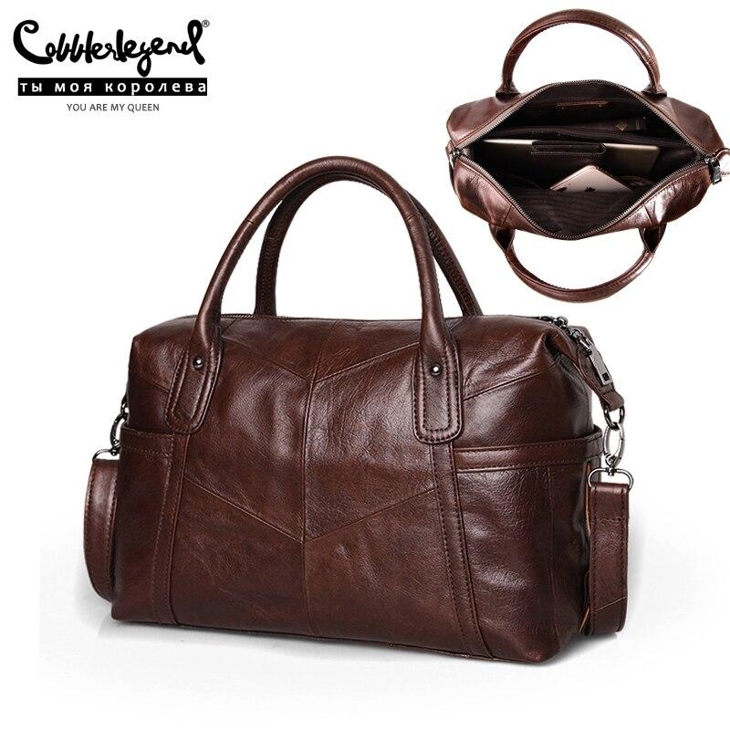 Cobbler Legend grands sacs pour femmes 2019 sac à bandoulière en cuir véritable sac à main Vintage mode fourre-tout femme célèbre marque Bolsas