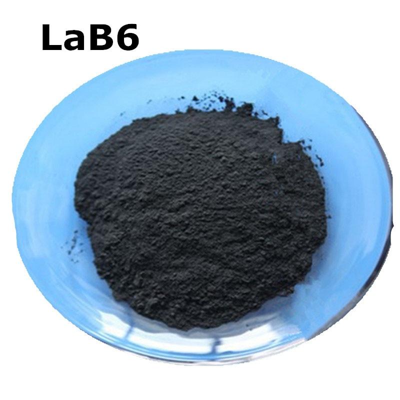 LaB6 Lanthanum Boride High Purity Powder 99.9% For R&D Ultrafine Nano Powders About 50 Nanometer Materials Powder