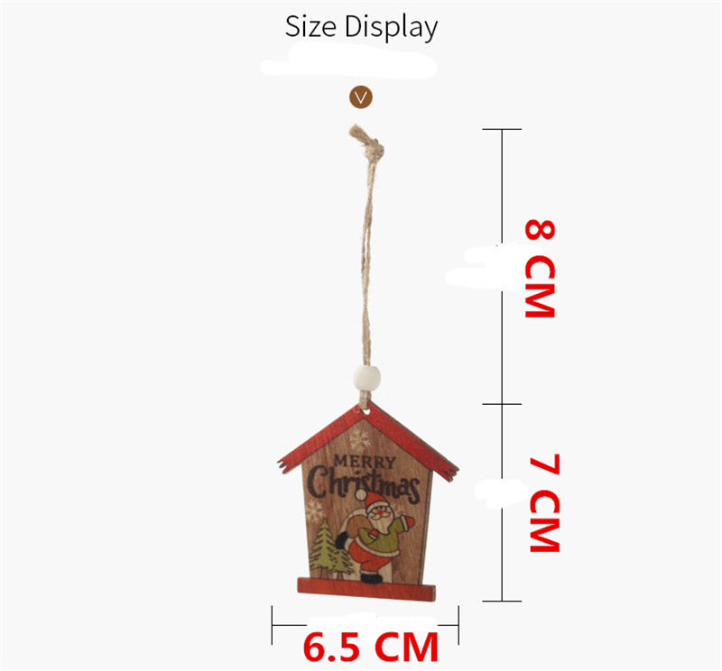 Wooden Birdhouses Advent Calendar 8cm