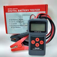 MICRO-200 PRO Auto Batterie Tester 12V 24V AGM EFB Gel Batterie System Analyzer Lkw Motorrad Automotive Auto Diagnose werkzeug(China)