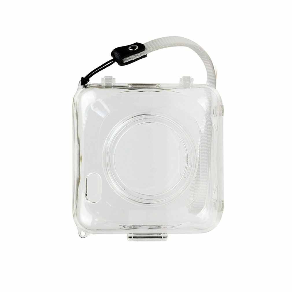 Luminoso Del Telefono Trasparente Stampante Sacchetto di Caso Duro Custodia Protettiva in Plastica di Copertura Della Macchina Fotografica Borsette per Paperang Accessori da Viaggio