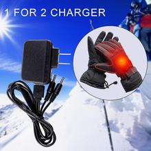 Universal Adapter One For Two Phone Charger Converter US Regulations Power Supply Heating Heated Gloves