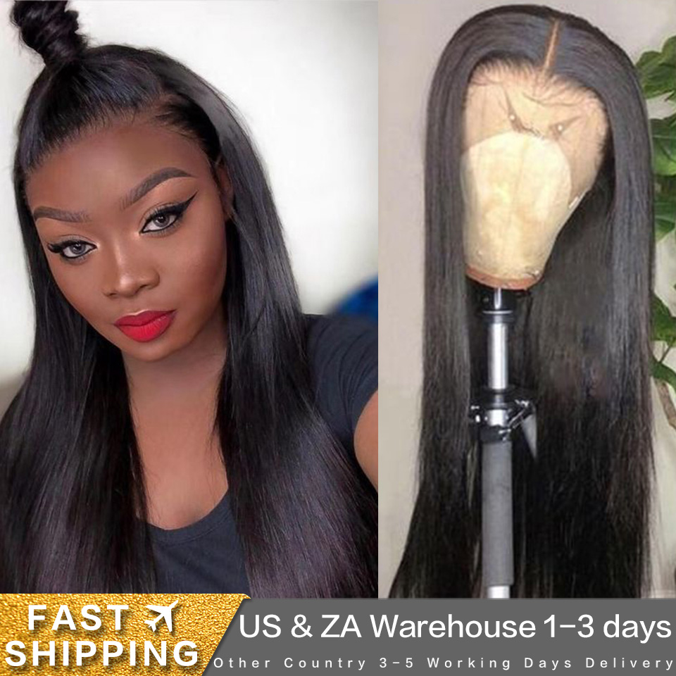 Joedir 13X4 Bob Lace Front Wigs Brazilian Pre Plucked Straight Lace Front Human Hair Wigs Straight Lace Humain Hair Wig