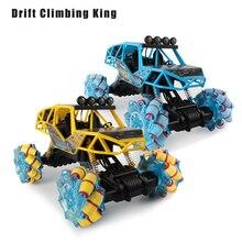 2.4G Remote Control Car 4CH Stunt Buggy Car Rock Crawler Rol