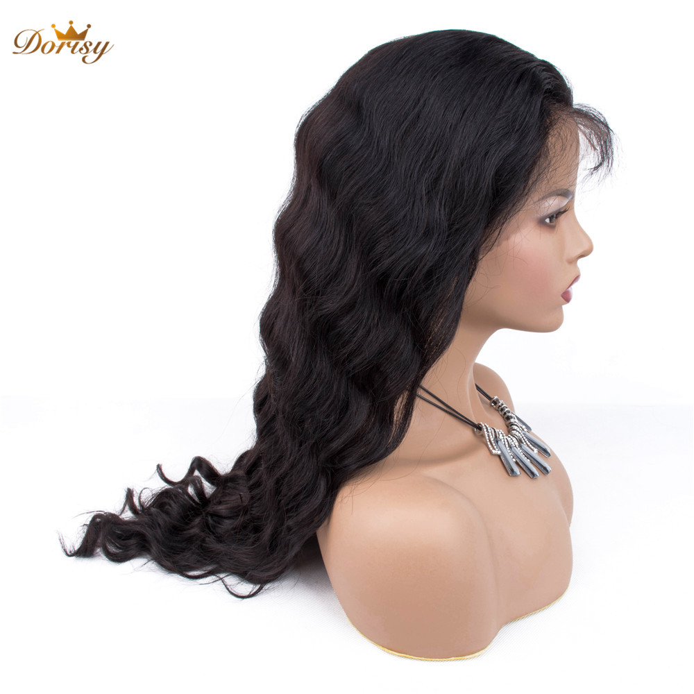 Dorisy Wig Hair Human-Hair-Wigs Lace-Frontal 360 with Baby Non-Remy Loose-Wave Pre-Plucked title=
