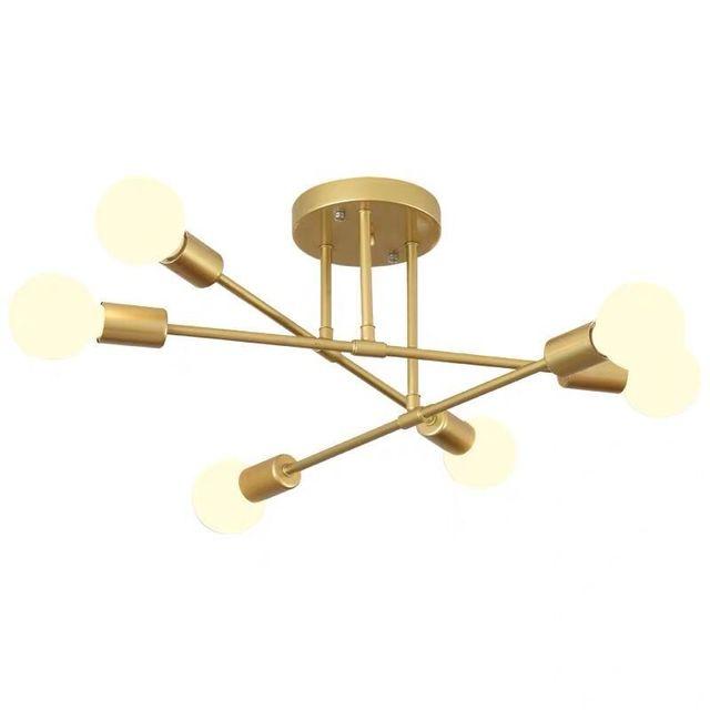 Moderno e minimalista nordic lâmpada do teto