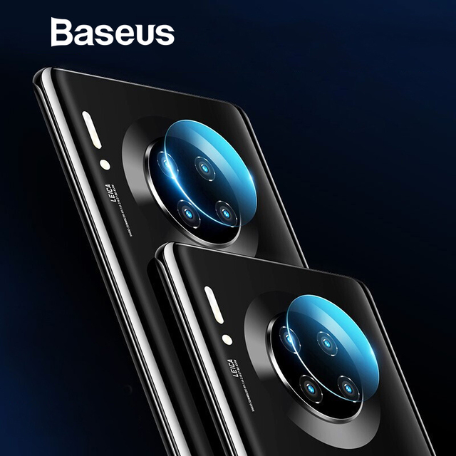 Baseus 2pcs Lens Film For Huawei Mate 30 Pro Camera Lens HD Soft Glass Screen Protector Protective Glass For Mate 30 Lens film