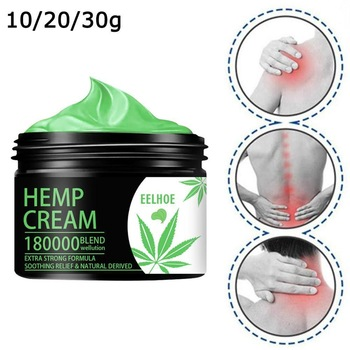 Relief Back Muscle Pain Sprain Arthritis Pain Hemp Soothing Cream for Pain Relief Anxiety Sleep Anti Inflammatory Extract 1