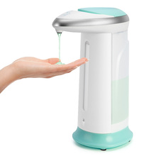 400Ml Automatic Liquid Soap Dispenser Smart Sensor Touchless ABS Electroplated Sanitizer Dispenser Soap Kitchen Bathroom itas5538 automatic liquid soap dispenser waterproof free touch abs gel hand sanitizer kitchen bathroom kindergarten