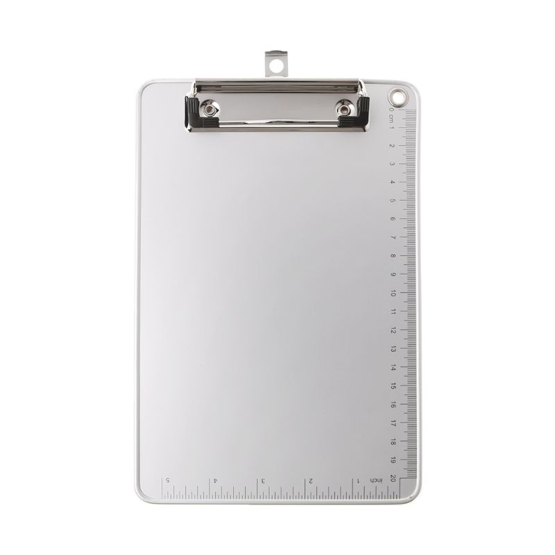 Portable A4/A5 Aluminum Alloy Writing Clip Board Antislip File Hardboard Paper Holder for Office School Stationery Supplies