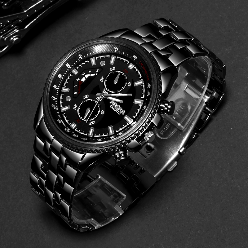 Fashion Watch Men Watches Top Brand Luxury Male Clock Business Men's Watch Hodinky Relogio Masculino Relojes Hombre 2019