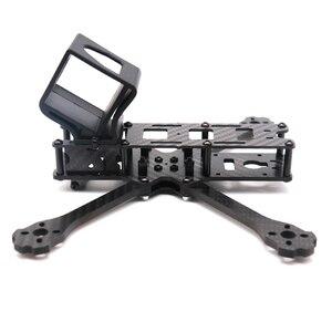 Image 4 - Cadre de Drone FPV TCMM 5 pouces X220HV, base de roue 220mm en Fiber de carbone pour course de Drone FPV