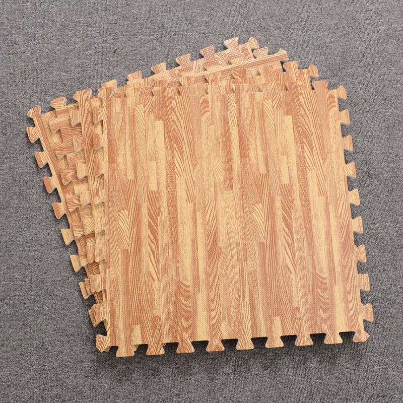 Foam Interlocking Tiles Wooden