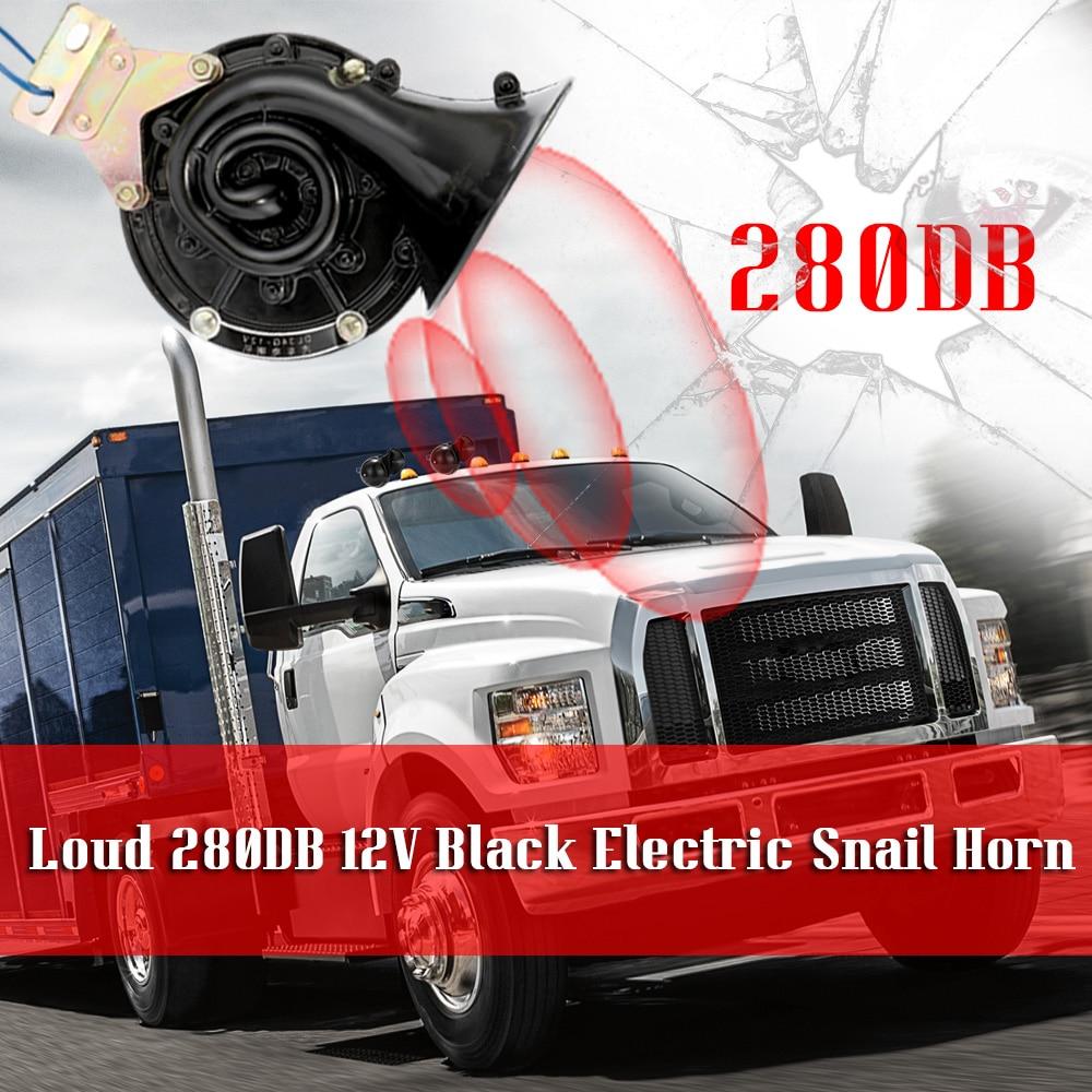 Snail Horn Pitch Loud Auto Horn 12V Universal Car Horn For Truck Boat Motorbike
