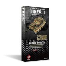Piececool 3D Metal Puzzle TIGER I tank Model kits DIY 3D Laser Cut Assemble Jigsaw Toys GIFT