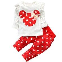 Christmas Newborn Baby Girls Minnie Clothes