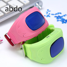 ABDOQ50 Children GPS Tracker SOS Smart Monitor Positioning Phone Child GPS Baby Watch Compatible IOS and Android(China)