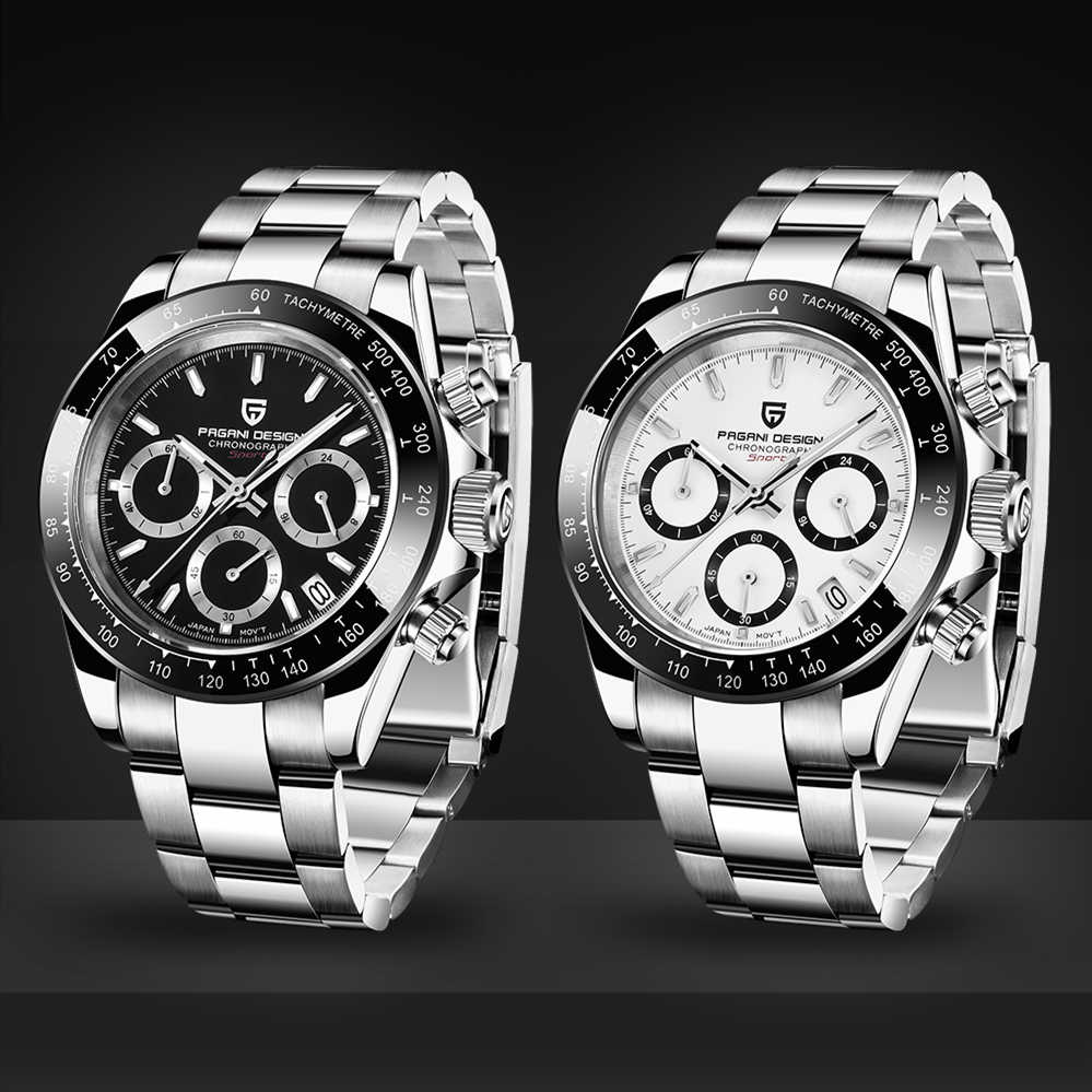 PAGANI Men's Watches Fashion 2019 New Top Luxury Brand Quartz Watch Men Military Sport Waterproof Wristwatch Relogio Masculino