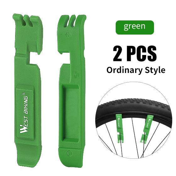 2 PCS Green Logo