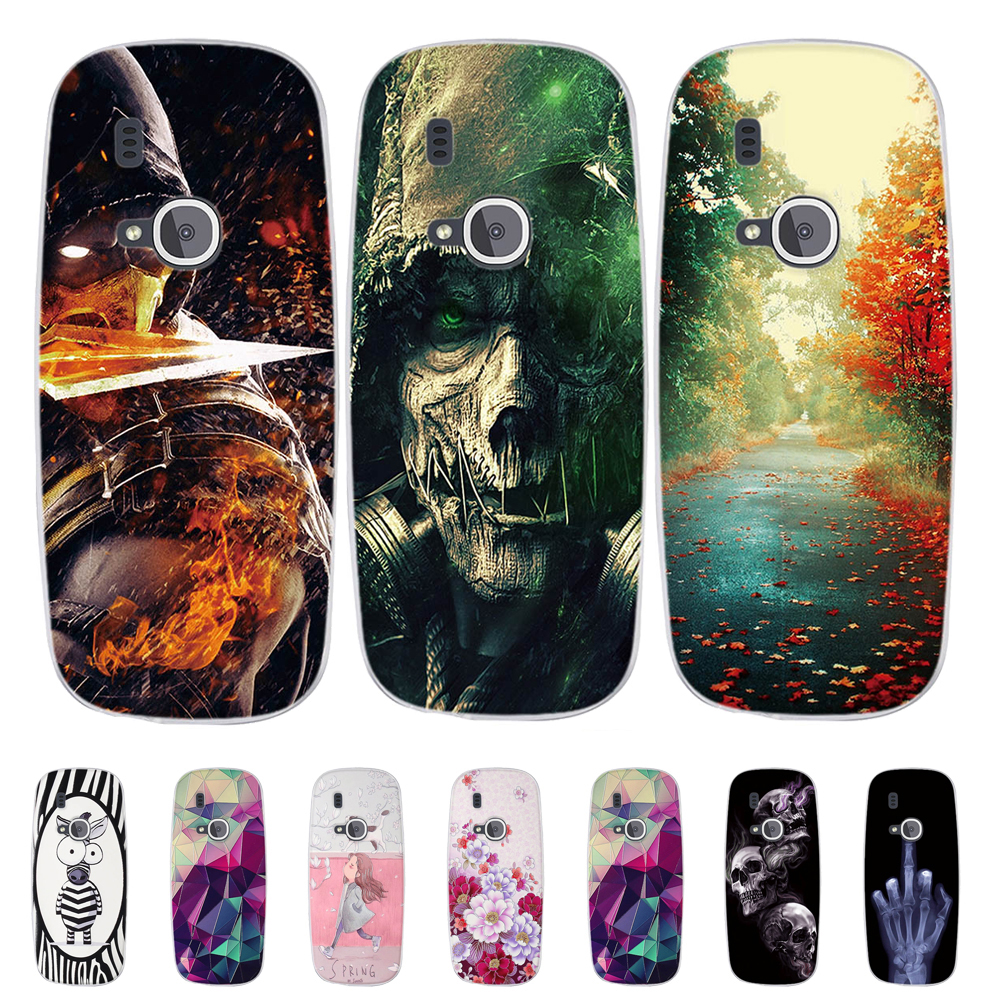 For <font><b>Nokia</b></font> <font><b>3310</b></font> (2017) Back Phone Cover For <font><b>Nokia</b></font> <font><b>3310</b></font> 2017 <font><b>Case</b></font> Print Painted Silicone TPU <font><b>Cases</b></font> For <font><b>Nokia</b></font> <font><b>3310</b></font> 2017 Shells Bags image