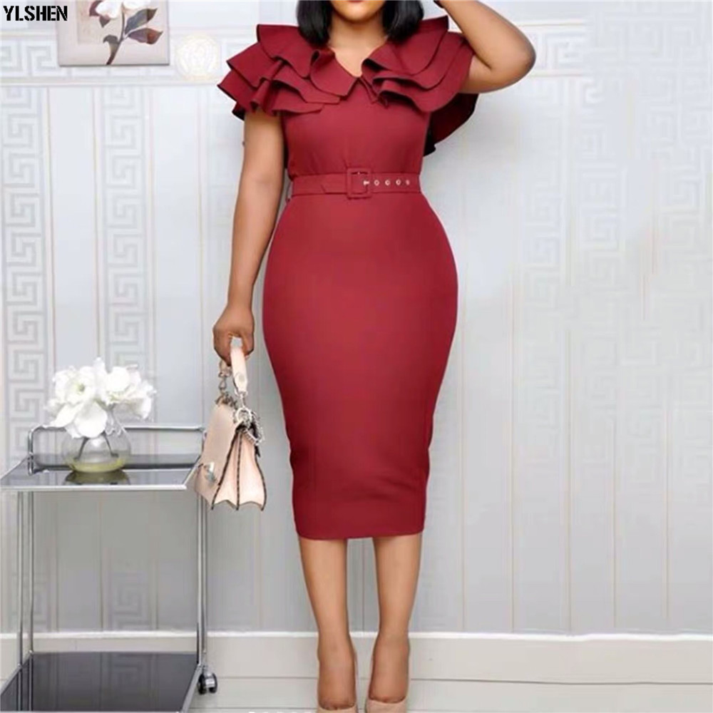 2020 Summer African Dresses For Women Robe Africaine Femme New Style Long Dress Clothing Traditional African Outfits For Ladies