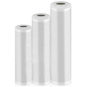 Vacuum Sealer Bags 3 Rolls Vacuum Seal Roll Vacuum Sealer Sous Vide Bags for Food Saver Food Storage Bag