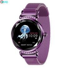 Браслет физиологический цикл умные часы для женщин пульсометр