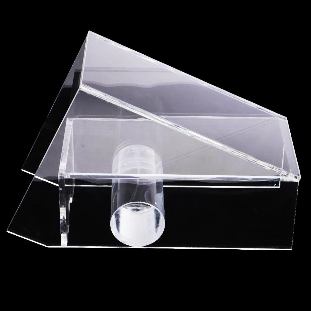 4 Deck Casino Grade Acrylic Black Jack Discard Tray