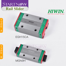 Original Taiwan HIWIN EGH15CA HGH20CA QEH20CA Linear Guide Slider Block For Linear Guideway Carriage Motion System