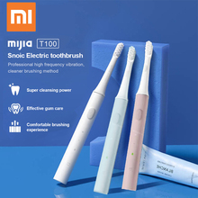 Xiaomi Mijia Electric Toothbrush T100 Sonic toothbrush Adult Ultrasonic Toothbrush USB Rechargeable Waterproof Tooth Brush Xiomi