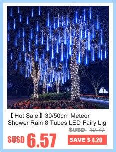 320 led струнный светильник водонепроницаемый метеоритный дождь