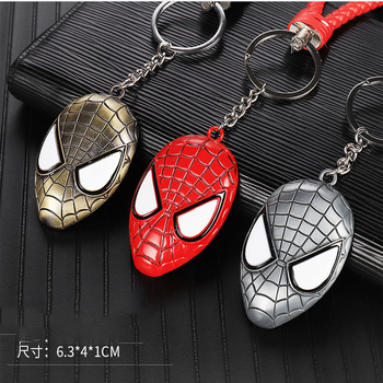 FOR HONDA dax magna 250 750 vf750 shadow 400 600 vlx 750 1100 Motorcycle Keychain Captain America Hulk Batman Thor Keychain image