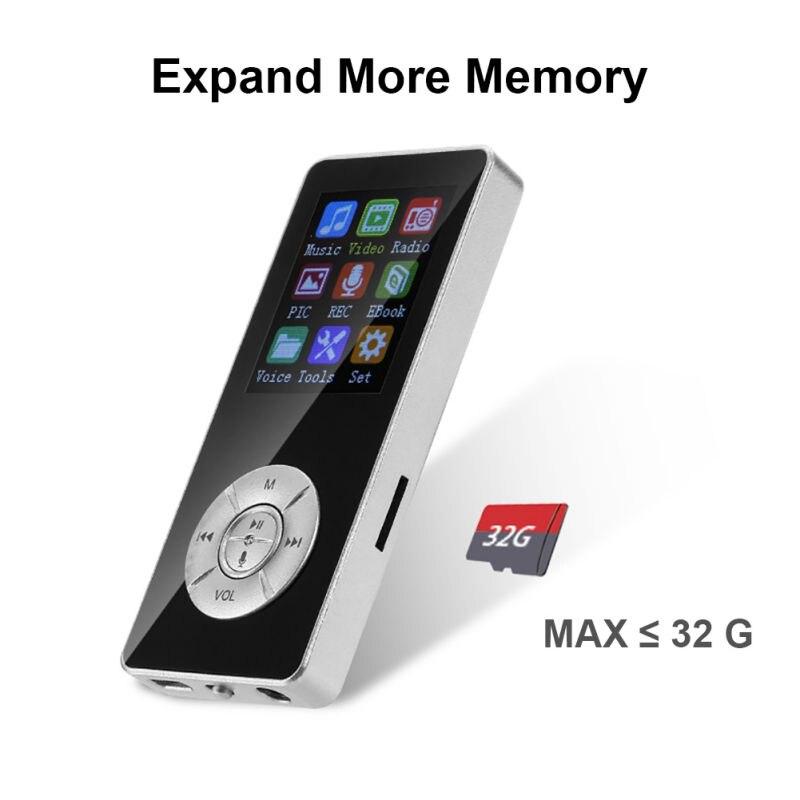 Мини Bluetooth 4,2 Plug-and-play Противоскользящий диктофон со слотом для карты памяти 5 клавиш музыкальный плеер новые mp3-плееры