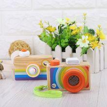 Деревянные мини-камеры игрушки-калейдоскопы детская комната висячие украшения игрушки